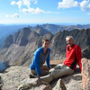 Kenan and Ramiz at Windom Peak (14,082ft = 4.292m).