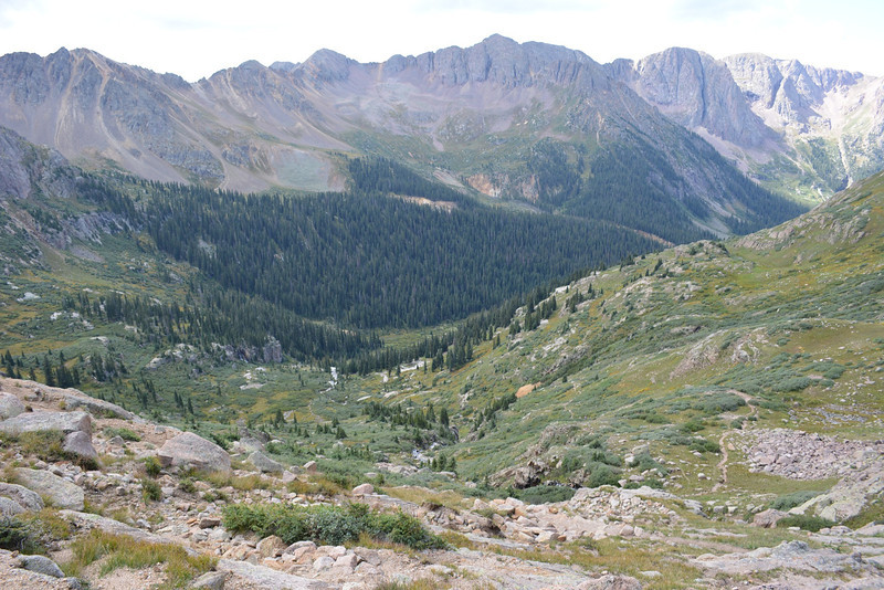 Going down to Chicago Basin.