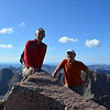 With Ramiz at Windom Peak (14,082ft = 4.292m).<br /> We were there at about 10am.