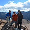 At North Eolus (14,039ft = 4.279m). We were there at about 10am.