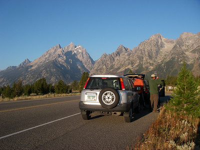 Towards Grand Teton range
