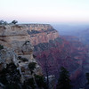 5am at Grand Canyon South Rim at about 7,800ft.