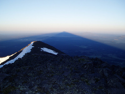 I was at home in 5 hours (5 - 10am). Yesterday: 5,400ft down, and 10,631ft up.