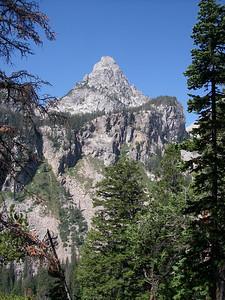 South Teton from Garnet Canyon
