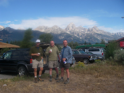 Towards Teton Range