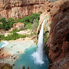 Havasu waterfall (100 ft or 30 m)