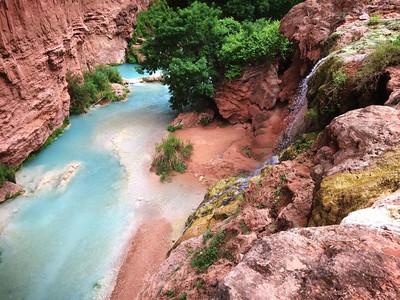 Going down toward Colorado River