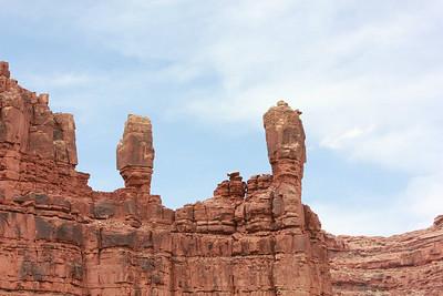 Two rock columns Wigleeva