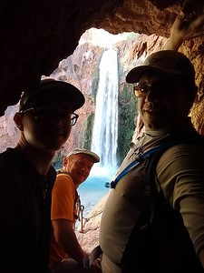 Mooney Falls - 210 ft (64 m)
