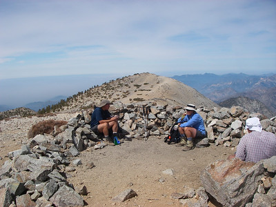 At the top of Mt.Baldy (10,064ft = 3.068m) 1