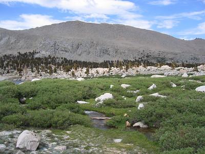 The meadows next to Lake 4