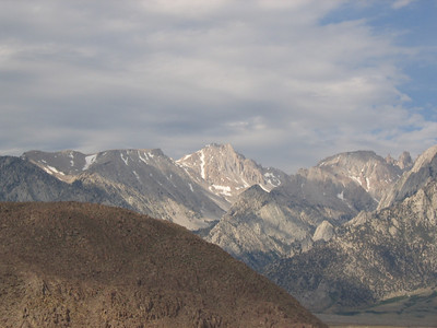 View on the Mt. Langley from Alabama Hills