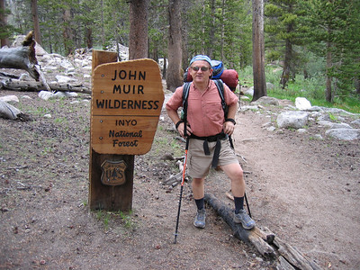Entering John Muir Wilderness
