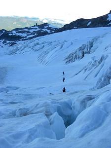 Tahoma Glacier crevasses 3