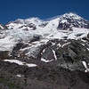 This is a huge mountain with multiple glaciers and routes of all technical levels
