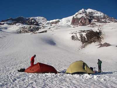 Our first camp at 7,100ft = 2164m