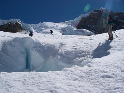 Tahoma Glacier crevasses 11
