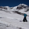 Mount Rainier, the most heavily glaciated peak in the contiguous United States, offers an exciting challenge to the mountaineer.<br /> We step on Tahoma Glacier at 5,800ft = 1768m