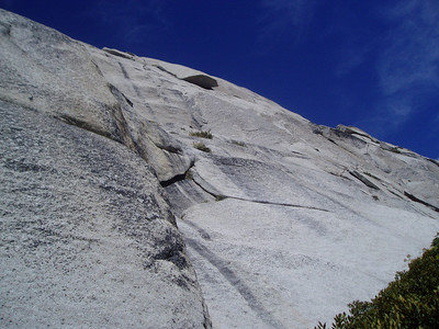 Above Ebersbacher's Ledges