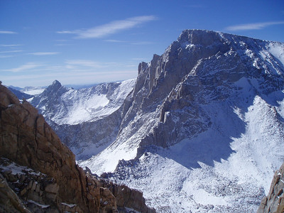 Mt. McAdie, Trail Crest, Pinnacle Ridge and Mt. Whitney