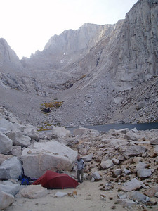 Camp at Upper Boy Scout Lake