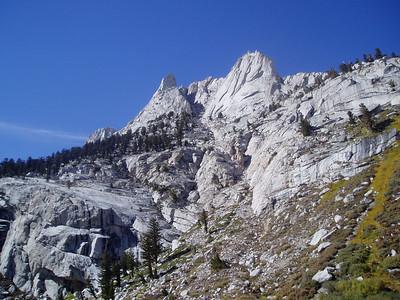 View to Gamblers Peak and Mt. Carillon