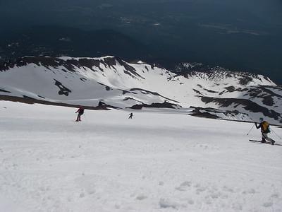 ... and long skiing