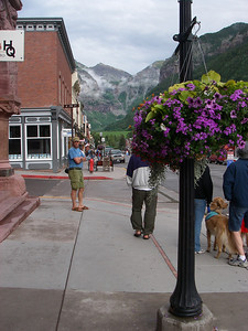 On our way back we visited Telluride, CO...