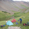 Our camp on higher lakes
