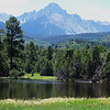 "San Juan Range - Colorado<br /> Sneffels is known as the ""Queen of the San Juans"""