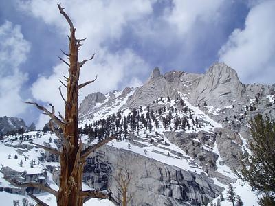 Gamblers Peak and Mount Carillon