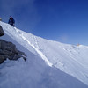 Mark P. on the summit ridge.<br /> We met here - establish nice friendship - and summited Mt Rainier together later on in July