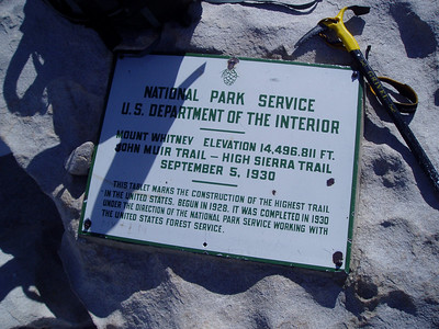 Mount Whitney: 14,496.811ft