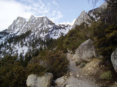 On the Mt Whitney main trail