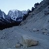 Traditionaly, the Whitney Portal Road is not maintaining until 01. May