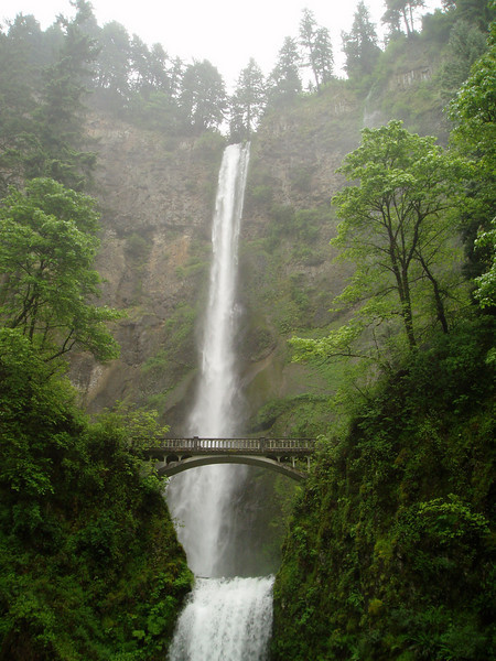 Multnomah Falls were on our way.