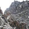We are heading towards Starlight Peak (4.328 m = 14,200 ft)