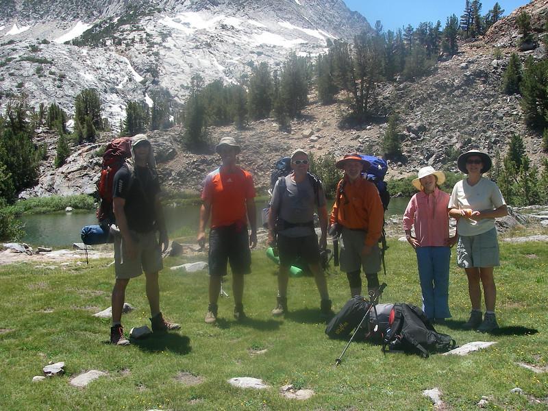 7 NABMA members from Atlanta, GA,  Boston, MA,  Chicago, IL and Phoenix, AZ visited Palisade Range for 4. July weekend