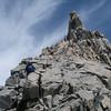 Thunderbolt Peak (4.268 m = 14,003 ft) is behind us