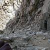 To Thunderbolt Peak we used first chute