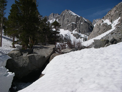 Inside South Fork Big Pine Creek