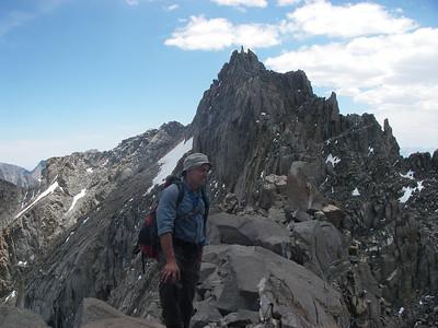Towards Starlight Peak 14,200ft = 4,328m
