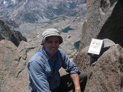 Thunderbolt Peak 14,003ft = 4,268m - registration box