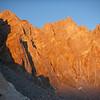 Sun set from Thunderbolt Pass (12,480 ft = 3.804 m).