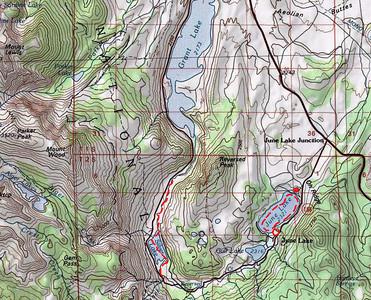 June Lake loop (158) on US395