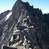 Thunderbolt Peak is located on the main Palisade Crest. It is the northernmost fourteen thousander in the Sierra Nevada.