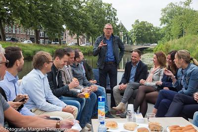 NAC Business Club tijdens Bootje Varen door de  Singel Breda