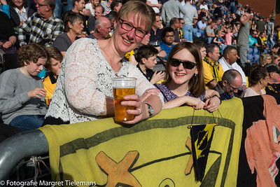NAC-Vitesse en de zon lieten Breda stralen