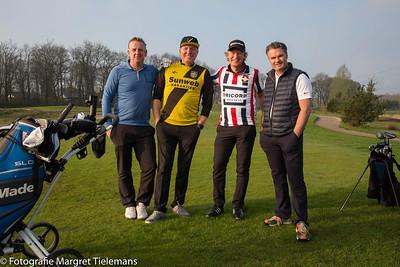 NAC tegen WillemII in Golf Derby bij Landgoed Bergvliet