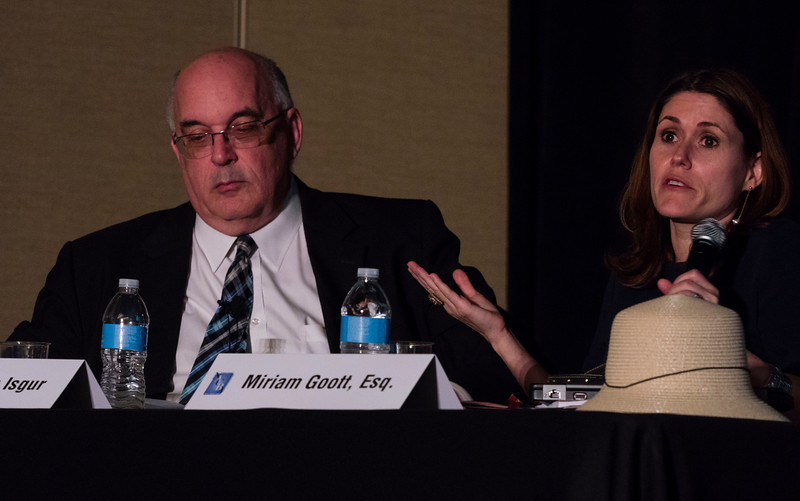 Speakers and attendees during Security Clearances & the SCRATime Records: Getting It Right at Friday sessions